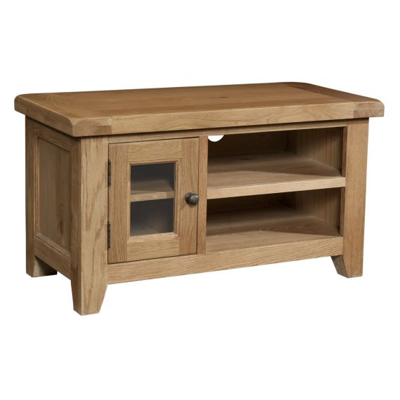 Buttermere Light Oak Small TV Unit
