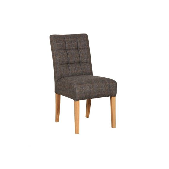 Colin Harris Tweed Fabric Dining Chair