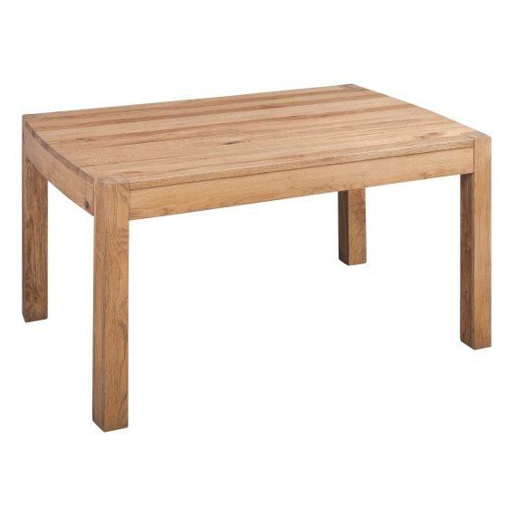 Como Rustic Oak 180cm Fixed Top Dining Table
