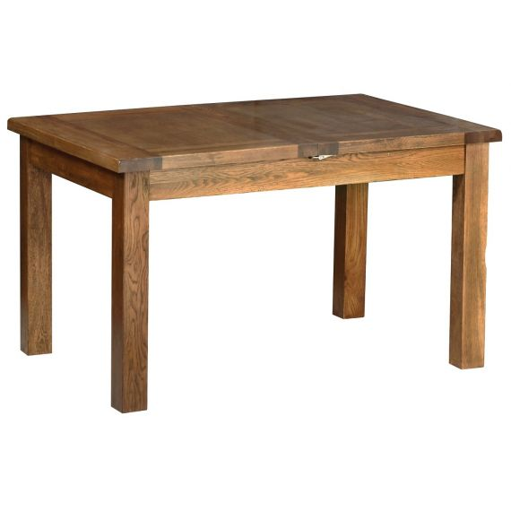 Edinburgh Rustic Oak Extending Dining Table