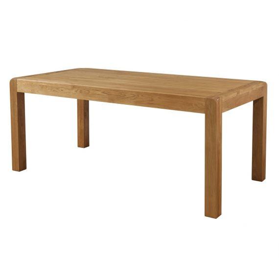 Fairfield Oak 180 x 90cm Fixed Top Dining Table