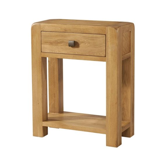 Fairfield Oak 1 Drawer Console Table