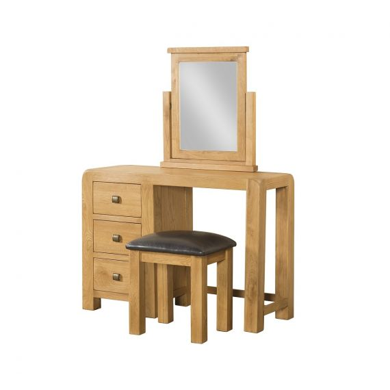 Fairfield Oak Dressing Table and Stool