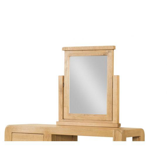 Fairfield Oak Dressing Table Mirror
