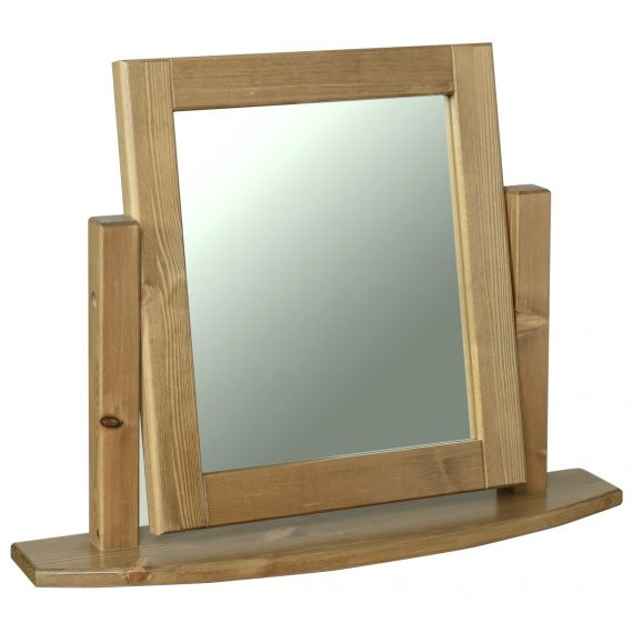 Glendale Solid Pine Dressing Table Mirror