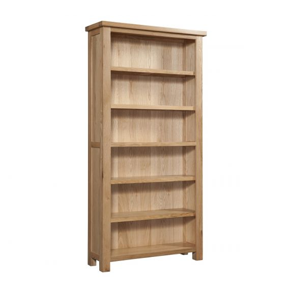 Grasmere Light Oak 6ft Tall Bookcase