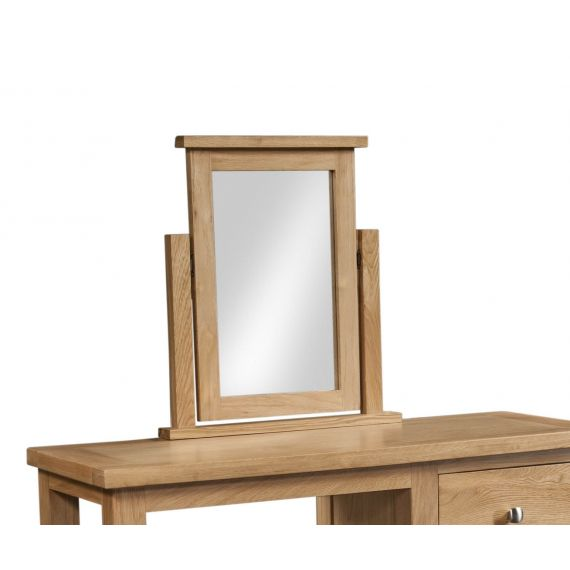 Grasmere Light Oak Dressing Table Mirror