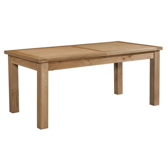 Grasmere Light Oak Extending Dining Table