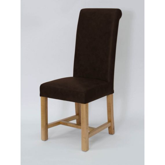 Henley Espresso Leather Dining Chair