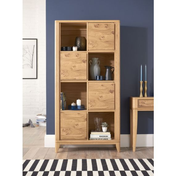High Park Pippy Oak Display Cabinet - High Park Furniture
