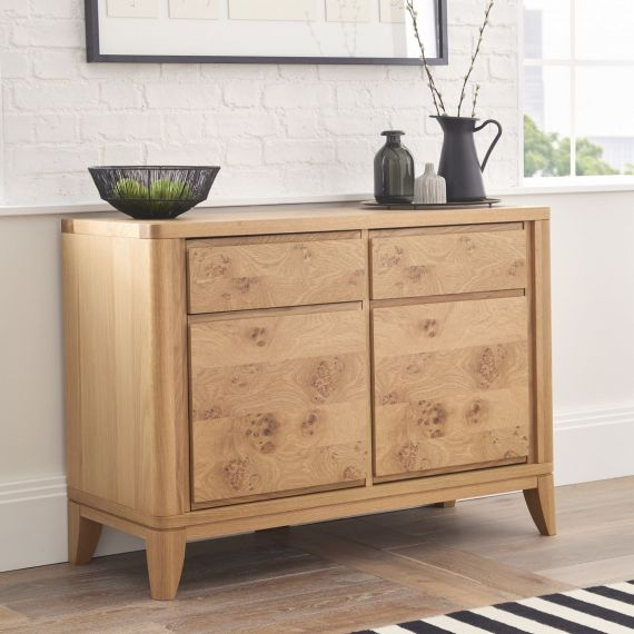 High Park Pippy Oak Small 2 Door Sideboard - High Park Furniture