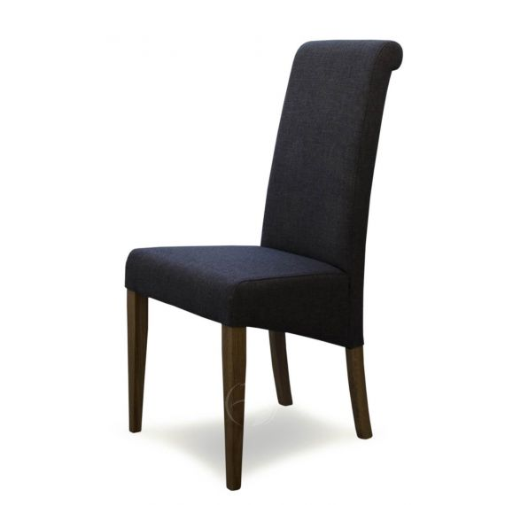 Italia Stone Fabric Dining Chair