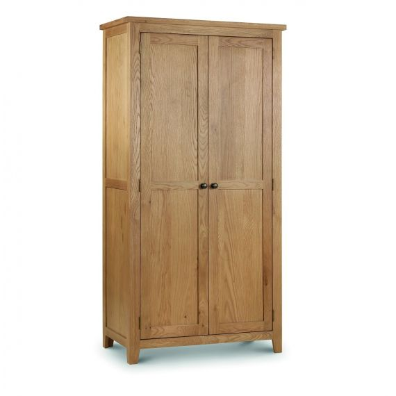 Kent Oak 2 Door Double Wardrobe