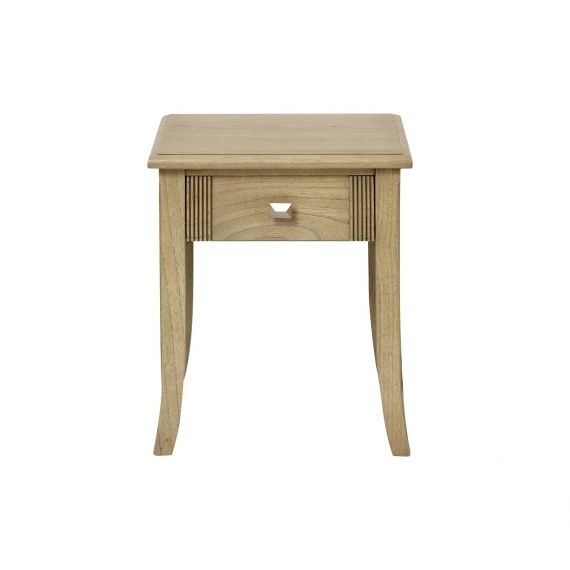 Lincoln Ash 1 Drawer Lamp Table