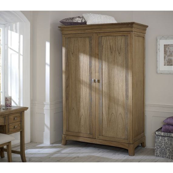 Lincoln Ash 2 Door Double Wardrobe