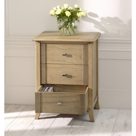 Lincoln Ash 3 Drawer Chest