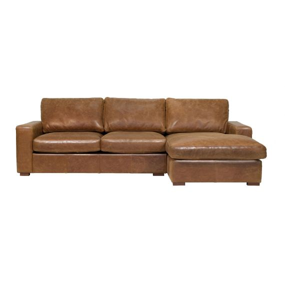 Maximus 4 Seater Corner Chaise Sofa - Right Hand Facing Chaise | Bespoke