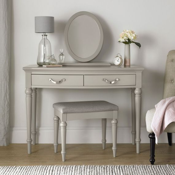 Montreux Urban Grey Painted Dressing Table - Montreux Furniture