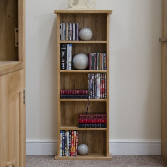 Opus Solid Oak CD/DVD Tower