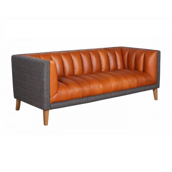 Oxford Club 3 Seater Sofa