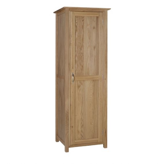 Oxford Contemporary Oak Single Wardrobe