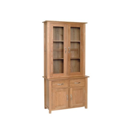 Oxford Contemporary Oak Small Welsh Dresser