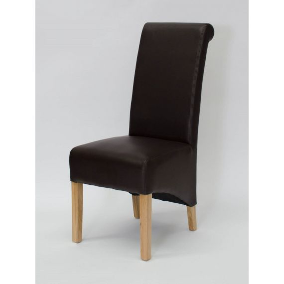 Richmond Coco Matt Leather Dining Chair