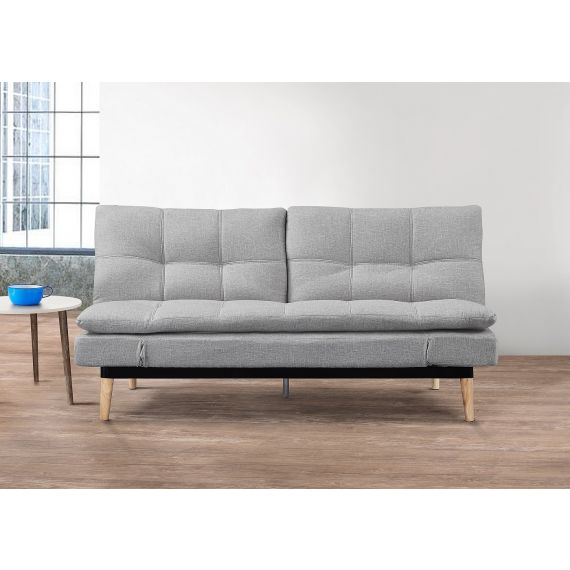 Squish Fabric 3 Seater Sofa Bed