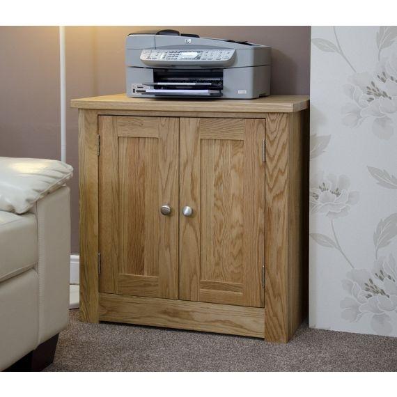 Torino Solid Oak Printer Cabinet