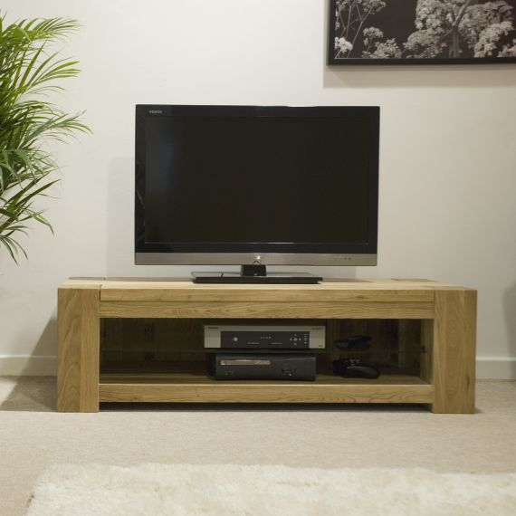 Trend Solid Oak Plasma TV Unit