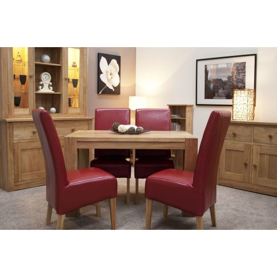 Trend Solid Oak Small Dining Table