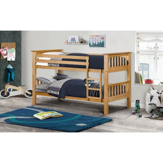 Trent Solid Pine Bunk Bed