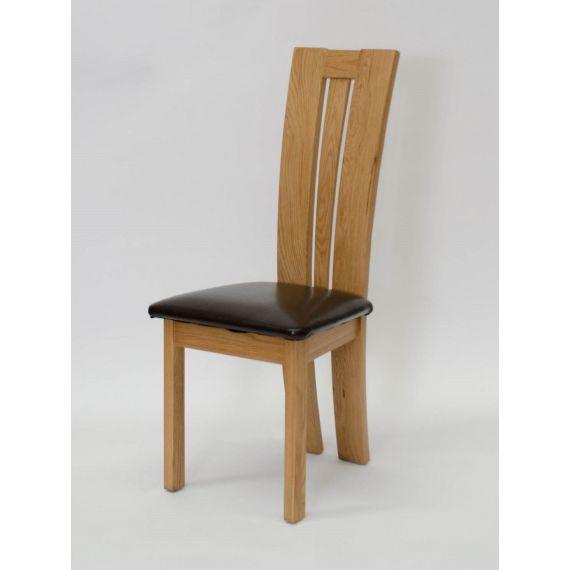 Venezia Solid Oak Dining Chair