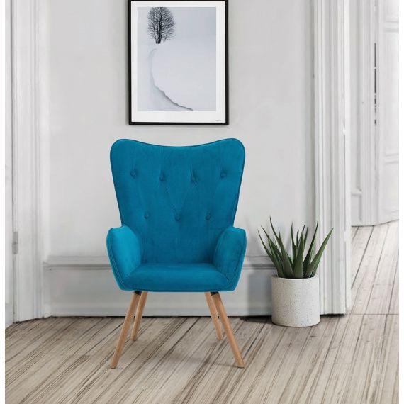 Willow Velvet Armchair