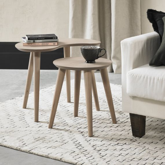 Dansk Scandi Oak Nest of Tables
