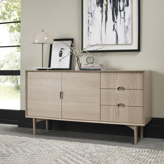 Dansk Scandi Oak Wide Sideboard