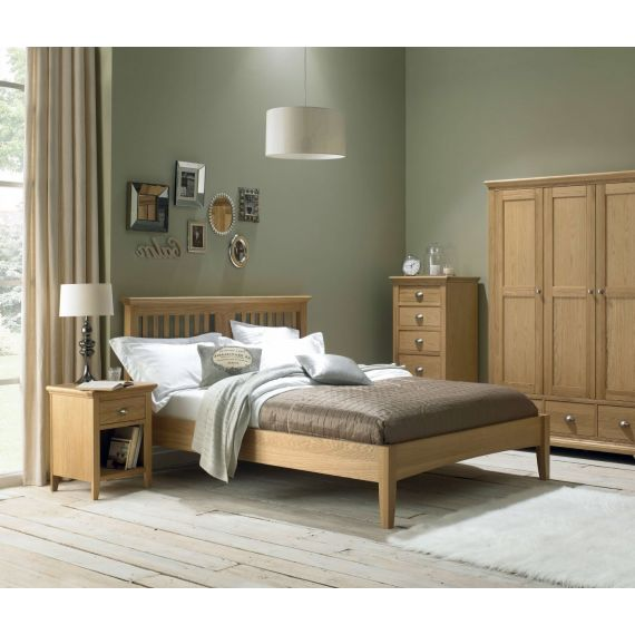 Hampstead Oak Double Bed