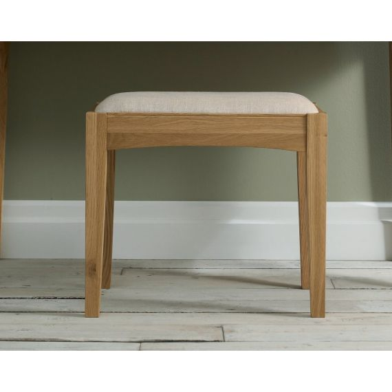 Hampstead Oak Dressing Table Stool
