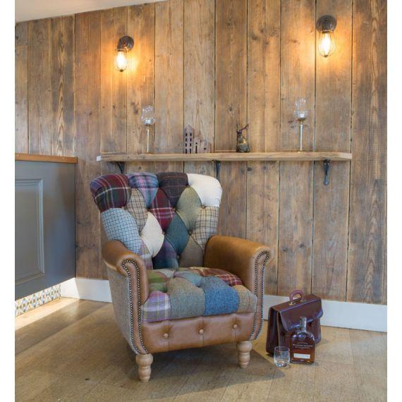 Harlequin Patchwork Armchair
