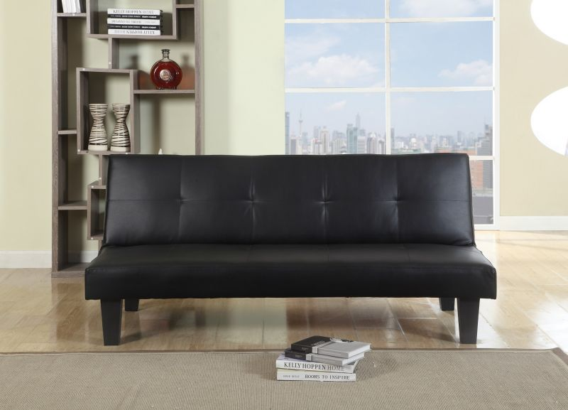 Franklin 3 Seater Leather Sofa Bed