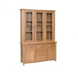 Contemporary Oak Large Welsh Dresser